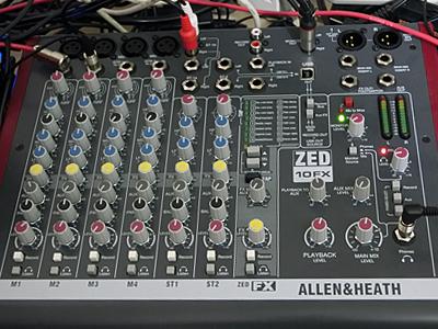 ALLEN&HEATH ZED-10FX